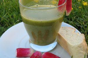 Soupe aux Fanes de Radis_ recette Cook'in®