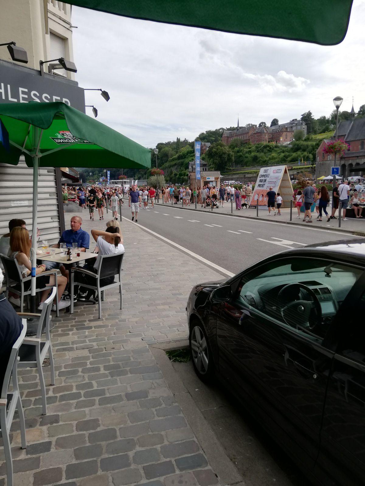 Dinant, la ville wallonne rayonnante ce 15 août