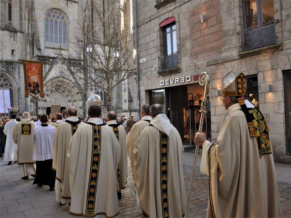 Foi et tradition : le pardon de Saint Corentin aujourd'hui à Quimper
