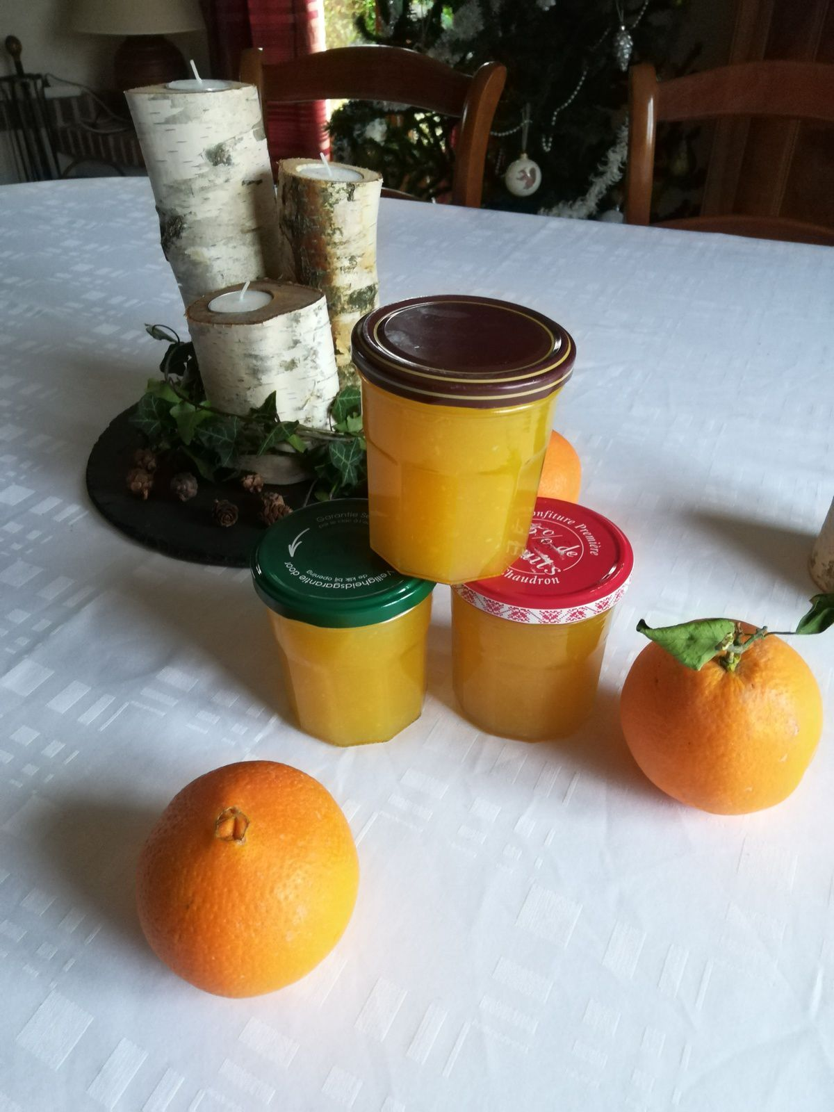 confiture d'orange au thermomix