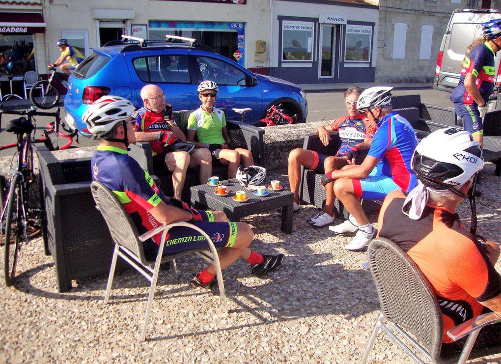 Sortie Club à Ronce-les-Bains, la Jean-Marie Derruau et les Romains des Bois