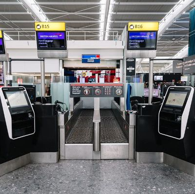 British Airways announces its largest ever number of hosted bag-drop machines at its Heathrow hub
