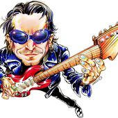 photos caricature - U2 BLOG