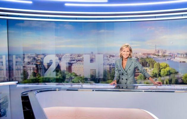 TF1 : Claire Chazal présentera son dernier JT dimanche soir