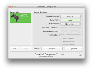 Gamepads et Mountain Lion