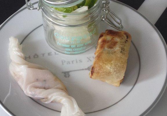 Bonbons de foie gras.