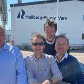 En ny fransk importör för de svenska segelbåtarna Hallberg-Rassy - Yachting Art Magazine
