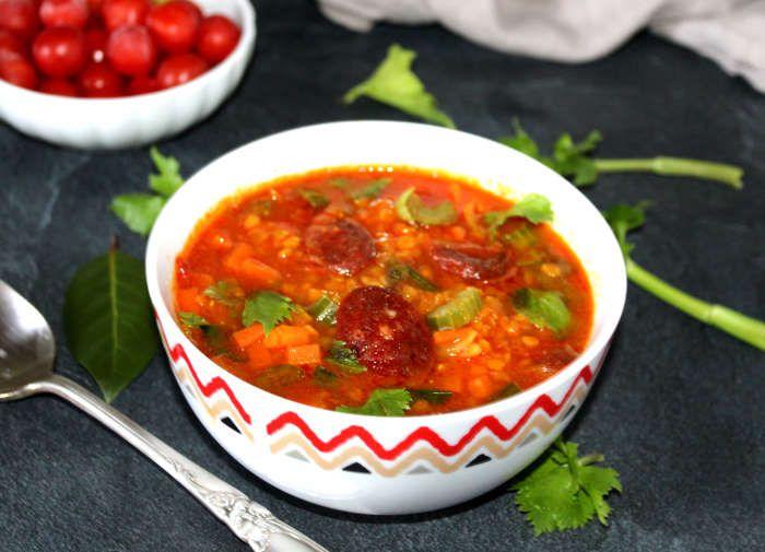 soupe-complète-légumineuses-chorizo-recette