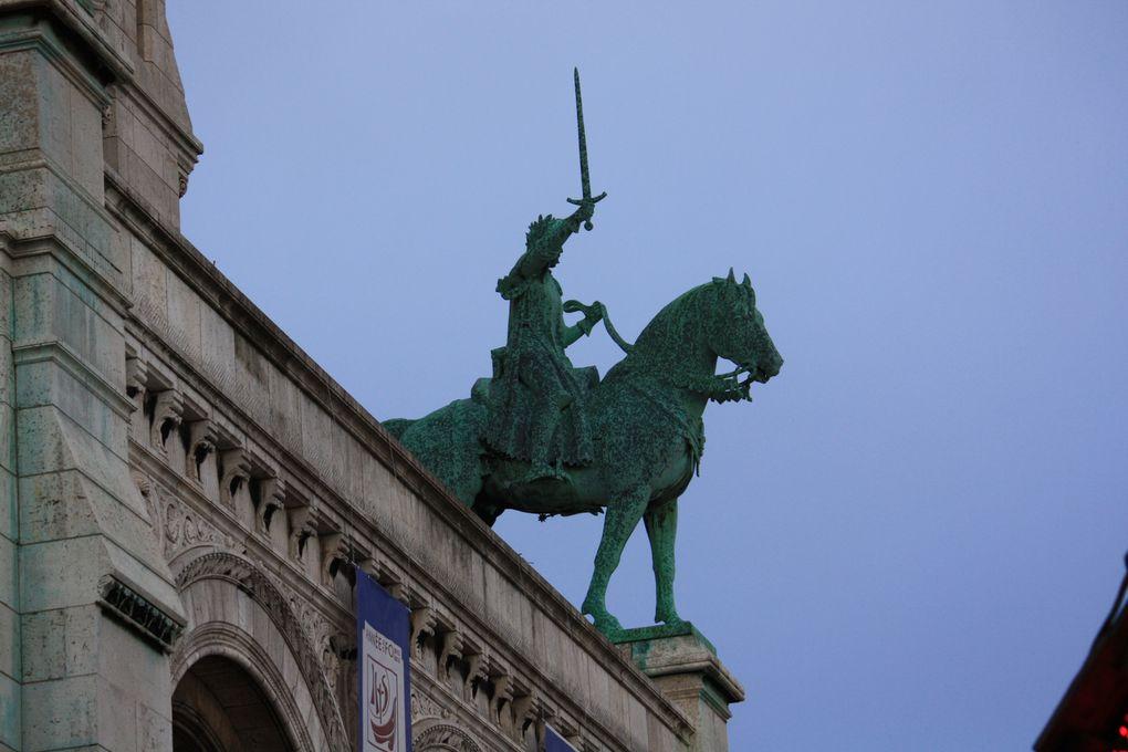 PARIS promenades: La butte Montmartre. La basilique du Sacré-Cœur. Photos: Emmanuel CRIVAT 2012