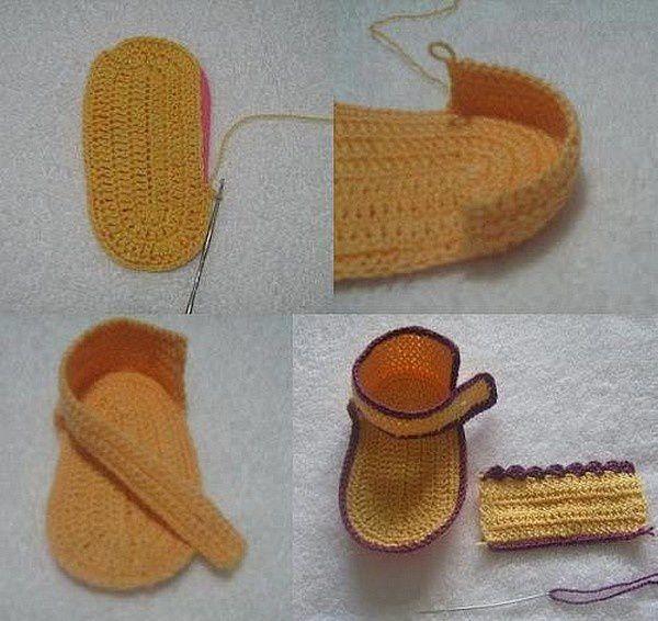 Sandale fleurie pour fillette avec un pas à pas en images !