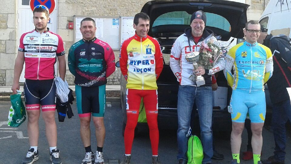 Cyclosportive à Corpes