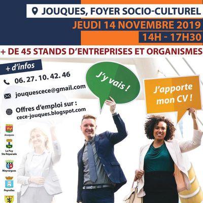 Salon de l'Emploi - Formation - Création d'entreprise: Jouques 14/11/2019
