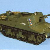 Kit canon automoteur britannique Sexton 25 Pdr