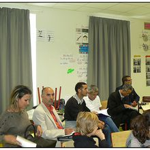 Saint André les Alpes : visite d'une délégation d'enseignants tunisiens