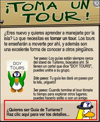 Como ser Guía de Tours