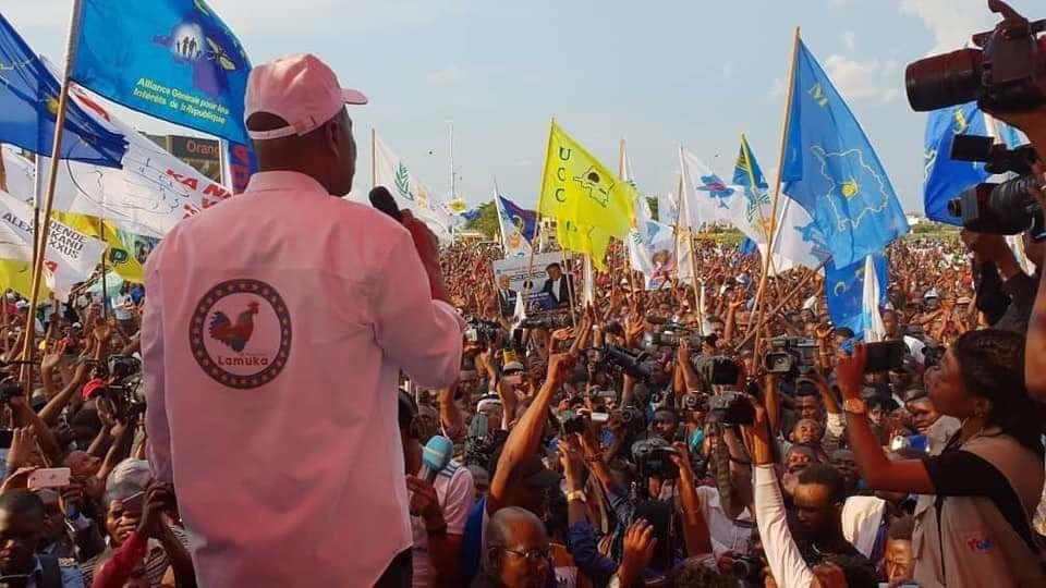 Le retour de Martin Fayulu à Kinshasa (21/11/2018)