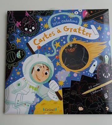 Cartes à gratter Aventure - Activité enfant - Editions Gründ