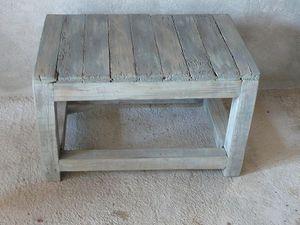 petite table basse en bois