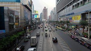 Bangkok, Thaïlande : Siam Square et Platinum Mall