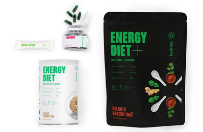 Gamme Energy Diet by Beautysané