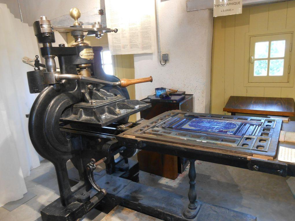 Le moulin du liveau , papier et typo , un bel endroit près de Clisson pour y découvrir l'histoire du papier et de l'imprimerie