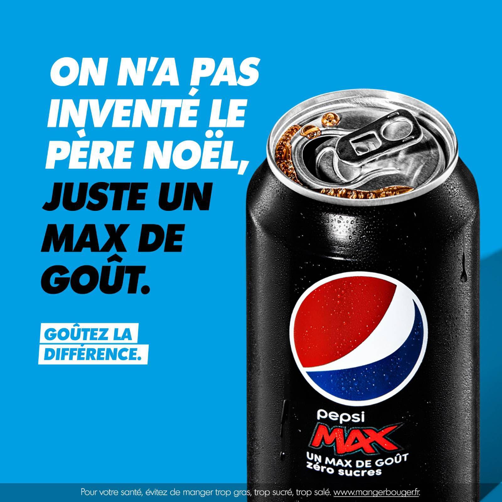 "Pepsi Max : ""Goûtez la différence"" (cola) I Agence : Buzzman, France (juin 2021)"