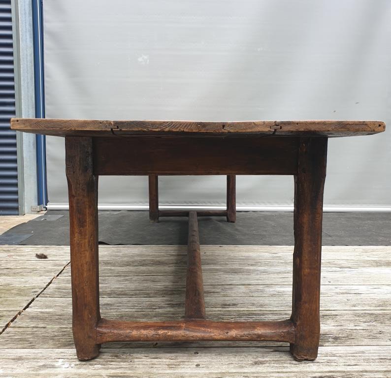 Table de ferme XIXème jusqu'à 10 convives - vendu