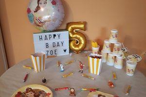 5 ans de Mlle Z : Sa Sweet Table d'Anniversaire !