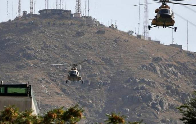 Two military helicopters collide in Afghanistan, 9 soldiers killed