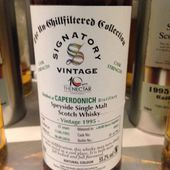 Caperdonich 21Y Signatory Vintage The Nectar 10th Anniversary. - Passion du Whisky & Friends