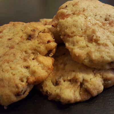 Cookies pomme, coing et noix