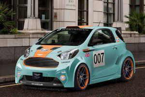 Aston-Martin Cygnet Gulf Racing