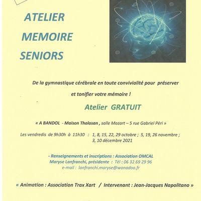 Atelier mémoire