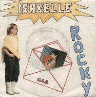 """isabelle chelley, une chanteuse belge des années 1980 avec des titres comme """"Rocky"""" ou """"dingue du rock"""""""