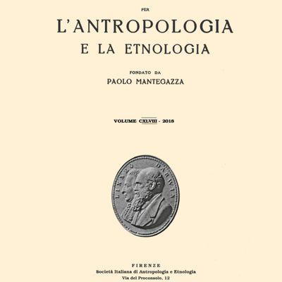 Archivio per l'Antropologia e la Etnologia  -  Du bon usage de l'incertitude