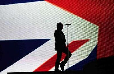 U2 - Brit Awards -Earl's Court Arena - Londres -Angleterre -18/02/2009