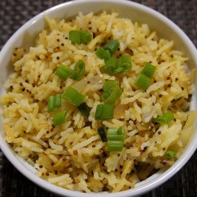 Riz au tamarin Mauricien