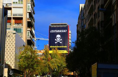 Madrid contre l'euthanasie.