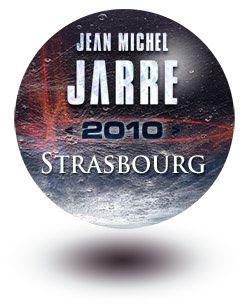 Jarre en concert à Strasbourg le 26 mars 2010