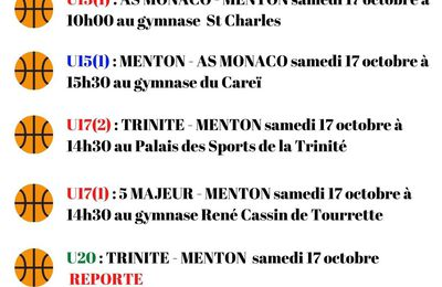 LES RENCONTRES DU WEEK-END