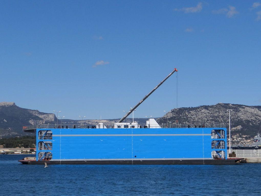 Dock Flottant , à la Seyne sur Mer le 11 avril 2016