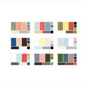 How to choose a colour palette for your wardrobe (+ 36 sample palettes)