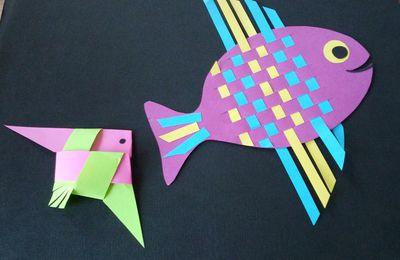Tuto DIY  poissons d'avril