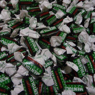 Nouvelle marque dans les bonbons sans sucre : Mentolin