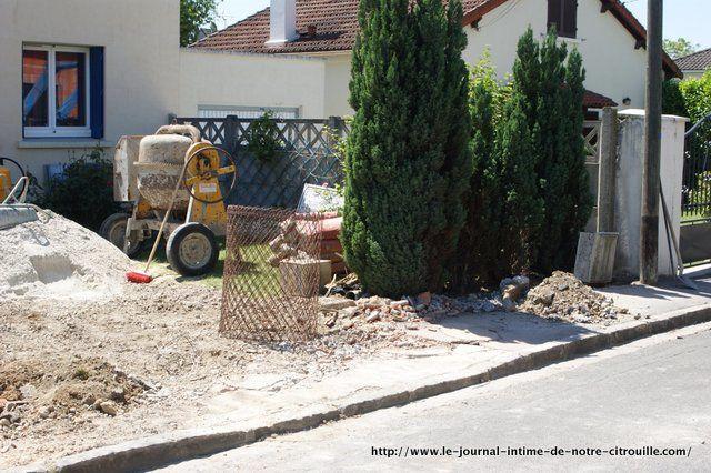 Opération terrassement-2012