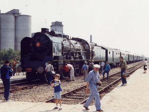 La 231 G SNCF et non le modèle REE comme on pourrait le supposer !