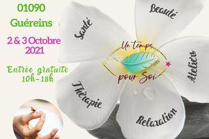 Guéreins : salon du bien-être  les 2 et 3 Octobre