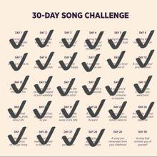 DEFI 30 jours de chansons francophones - Jour 29