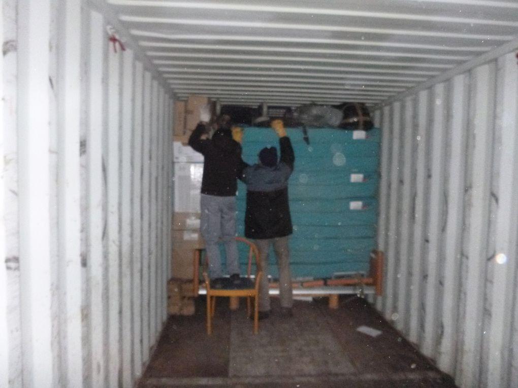 Samedi 15 décembre 2018 - Chargement du 1x40ft container (envoi no 12)
