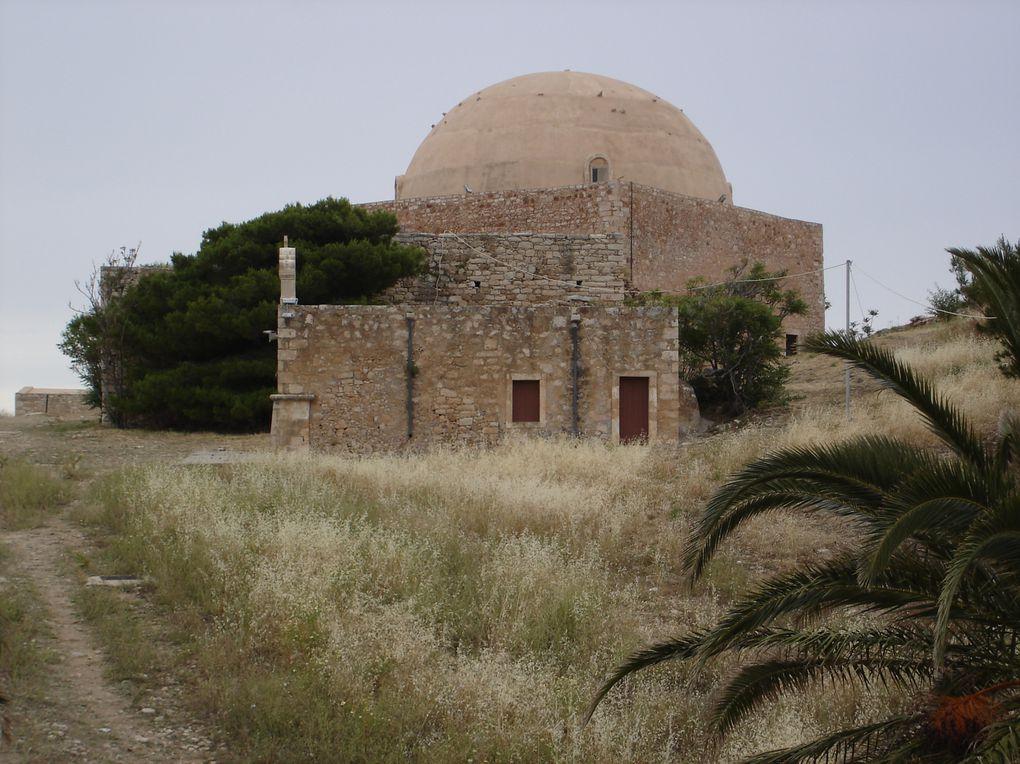 Voyage à Heraklion, capitale de la Crête, et dans toute la partie ouest de l'île.  Photos : J.Martin, E.Bony